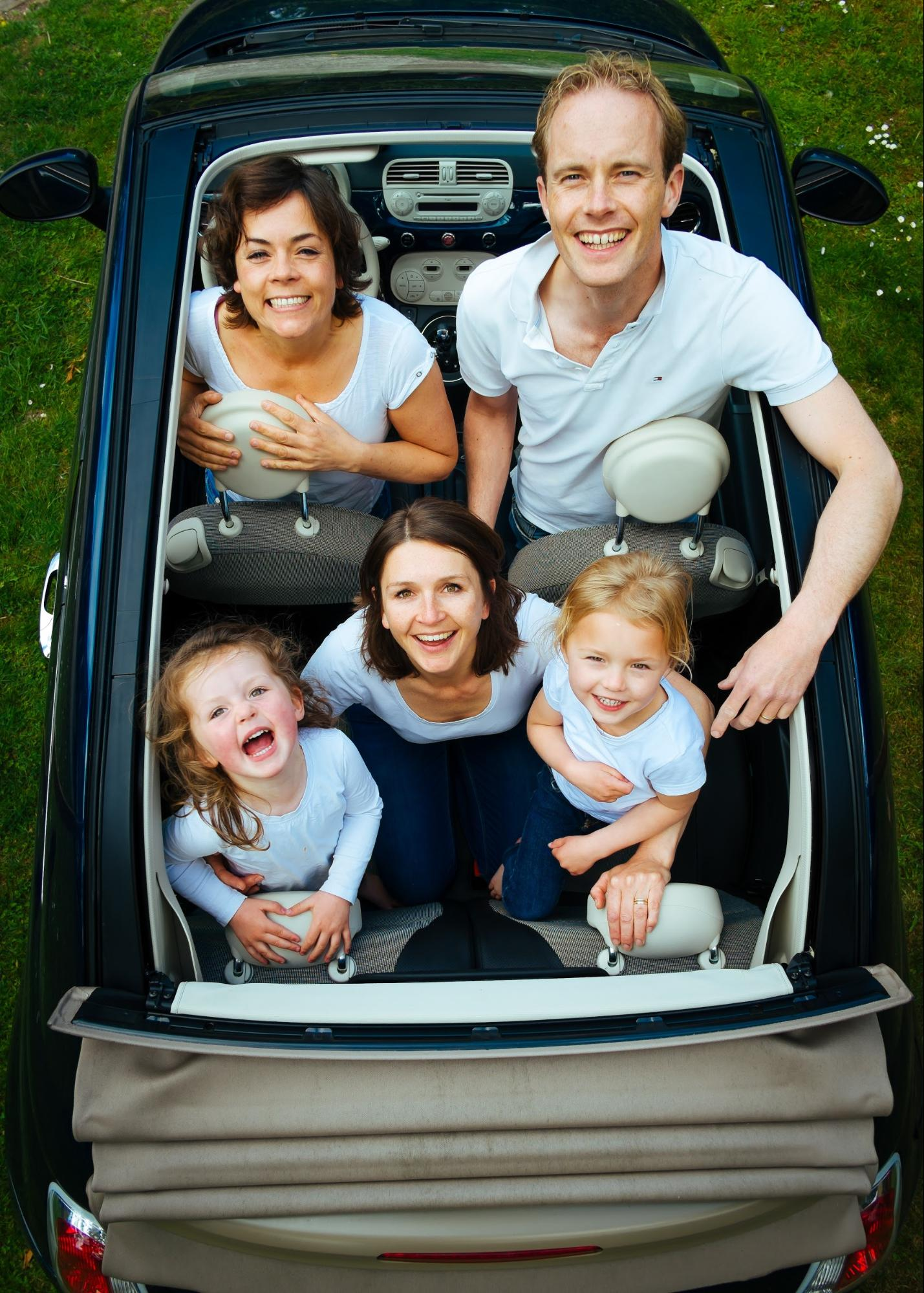 Having accomodations for everyone in a family car is key.